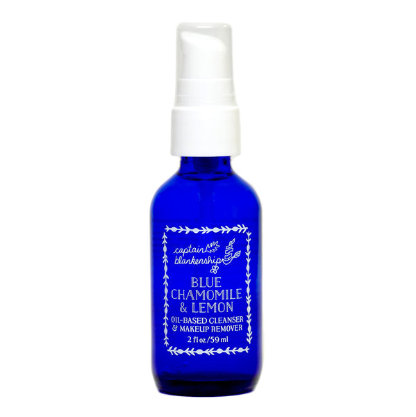 Blue Chamomile & Lemon Oil Based Cleanser and Makeup Remover