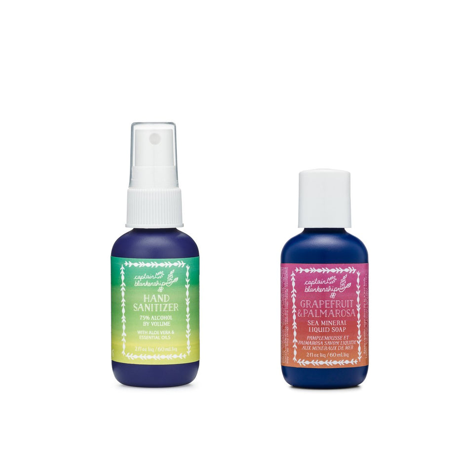 Grapefruit & Palmarosa Naturally Clean Set (travel)