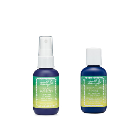 Lemongrass & Mint Naturally Clean Set (travel)