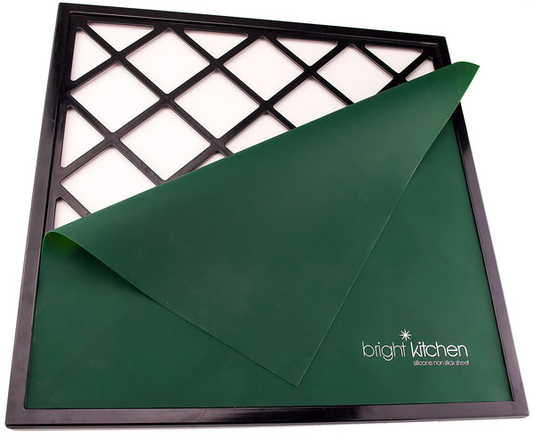 "14"" x 14"" Silicone Sheets for Excalibur Dehydrator Bright Kitchen Re-Usable Non-Stick Mat"