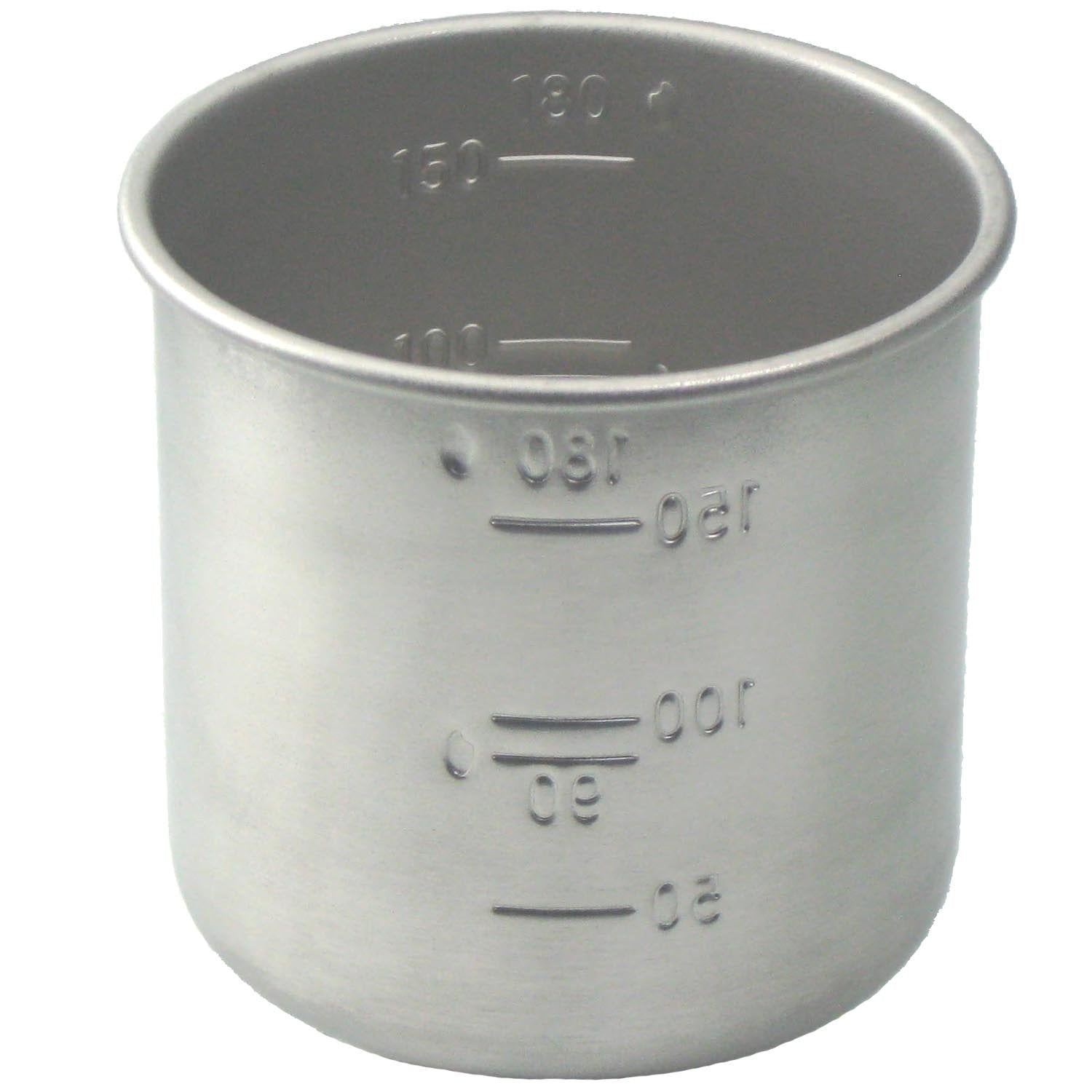Daiso Japanese Rice Measuring Cup(180cc = 1 Gou Cup) Stainless Steel