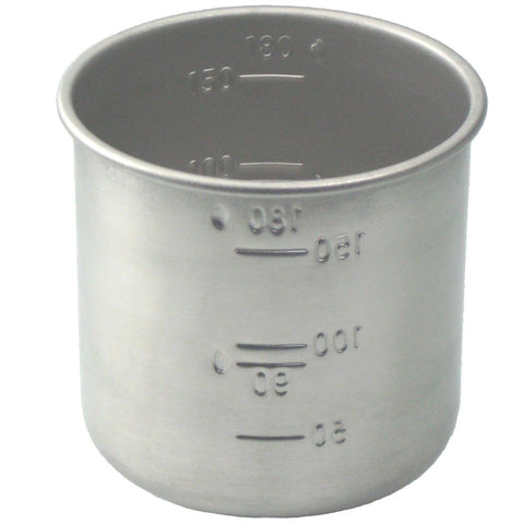 Stainless Steel Rice Measuring Cup 1 for Rice Cookers all Brands such as Aroma Zojirushi