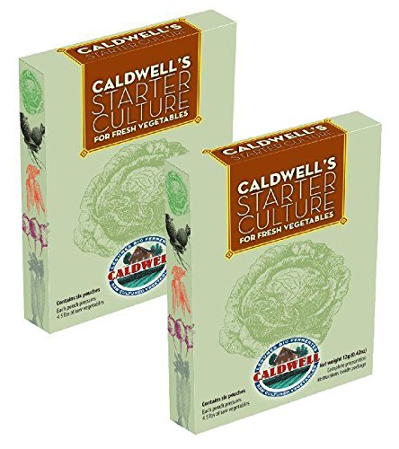 Caldwell Starter Culture for Fresh Vegetables, Box of 6 Packets