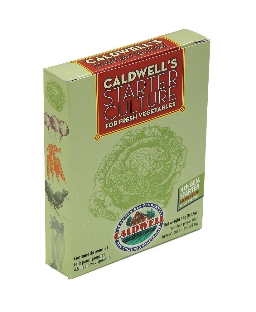 Caldwell's Starter Culture for Vegetables (4th gen vegan) by Caldwell Bio Fermentation