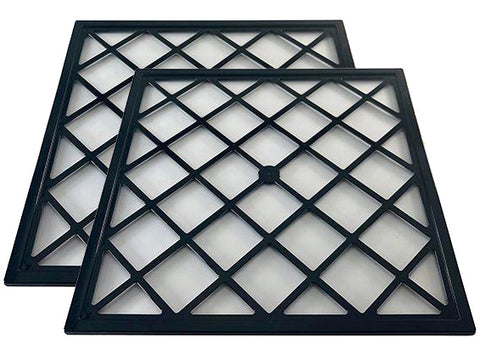 "2 Pack 12"" x 12"" trays for Excalibur 4 Tray /Level Dehydrators"