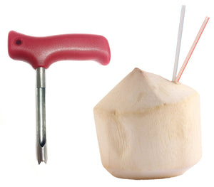 Red-C Coconut Opener Knife Tool for Opening Young Coco Water Tap