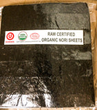 BULK Buy! Raw Organic Nori Seaweed Sheets 100 pack