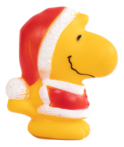 Snoopy Candy Cane Dog Toy Peanuts Christmas Vintage Collectable Squeak Pet Xmas Geisler 48143 ConAgra