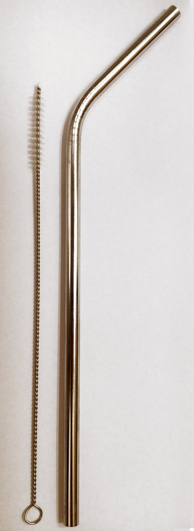 Reusable Straw - Stainless Steel Drinking - 1 metal straw + Cleaner - Eco Friendly, SAFE, NON-TOXIC non-plastic