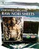 Raw Organic Nori Seaweed Sheets 10 pack