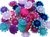 Gem S019 Flowers 12mm 20pack