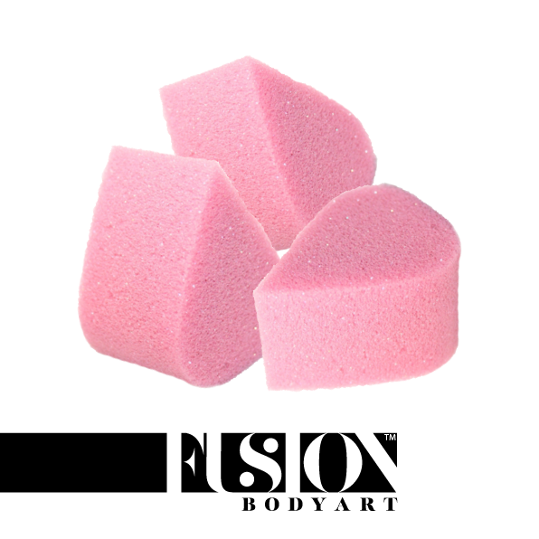 FUSION Face Paint Petal Sponge 3pack