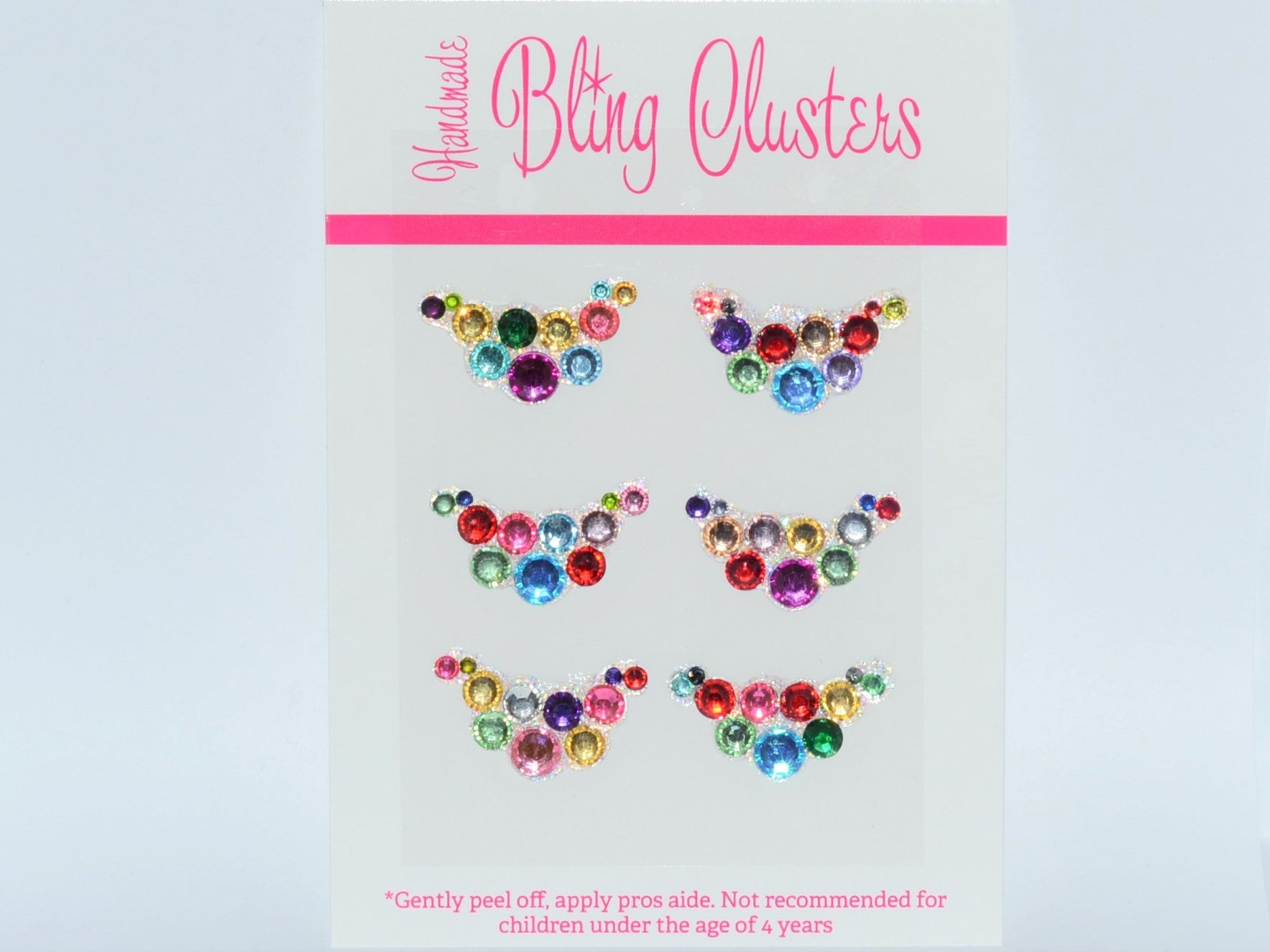 Bling Clusters - Rainbows 9 pack
