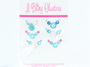 Bling Clusters - Ice Blue 9 pack