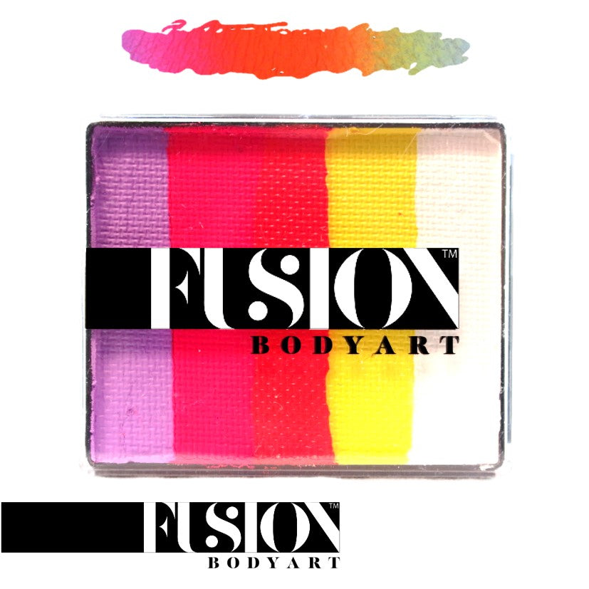 FUSION RAINBOW CAKE 50gm FX Caribbean Sunset
