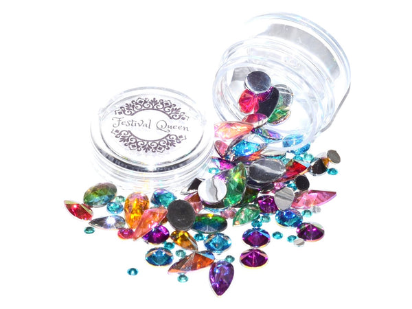 Festival Queen - DIY Festival Bling Gem Jar Chunky
