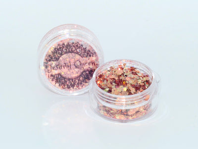 Festival Queen Chunky Glitter Limited Edition STEAMPUNK (Copper Gold)