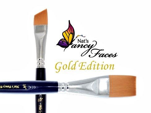 Nat's Gold Edition 2pc Brush Set