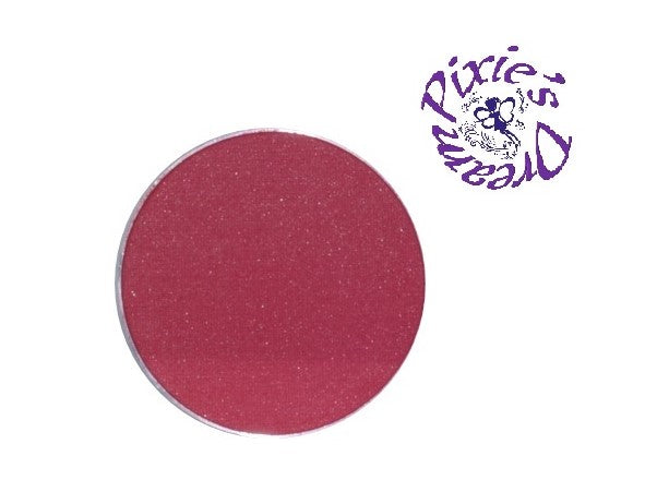 Pixie's Dream Powder Shimmer ROSE RED (36mm refill pan)