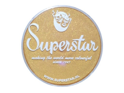 SUPERSTAR 16gm Gold Shimmer with Glitter 066