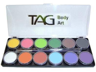 TAG 12 Colour (x 10g) Palette Kit