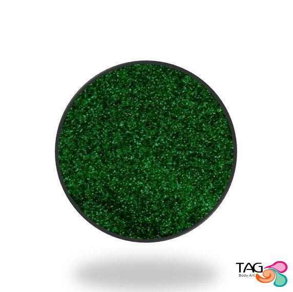 Glitter Tag Emerald Green (opaque)