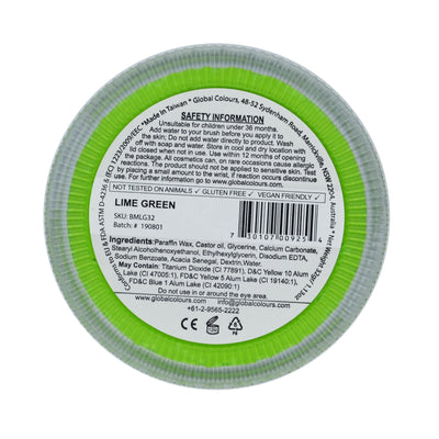 GLOBAL COLOURS 32gm Green Lime