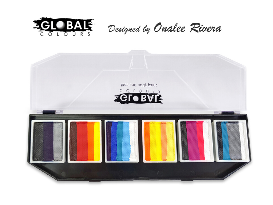 Global Fun Stroke Palette - Hero Power By Onalee Rivera