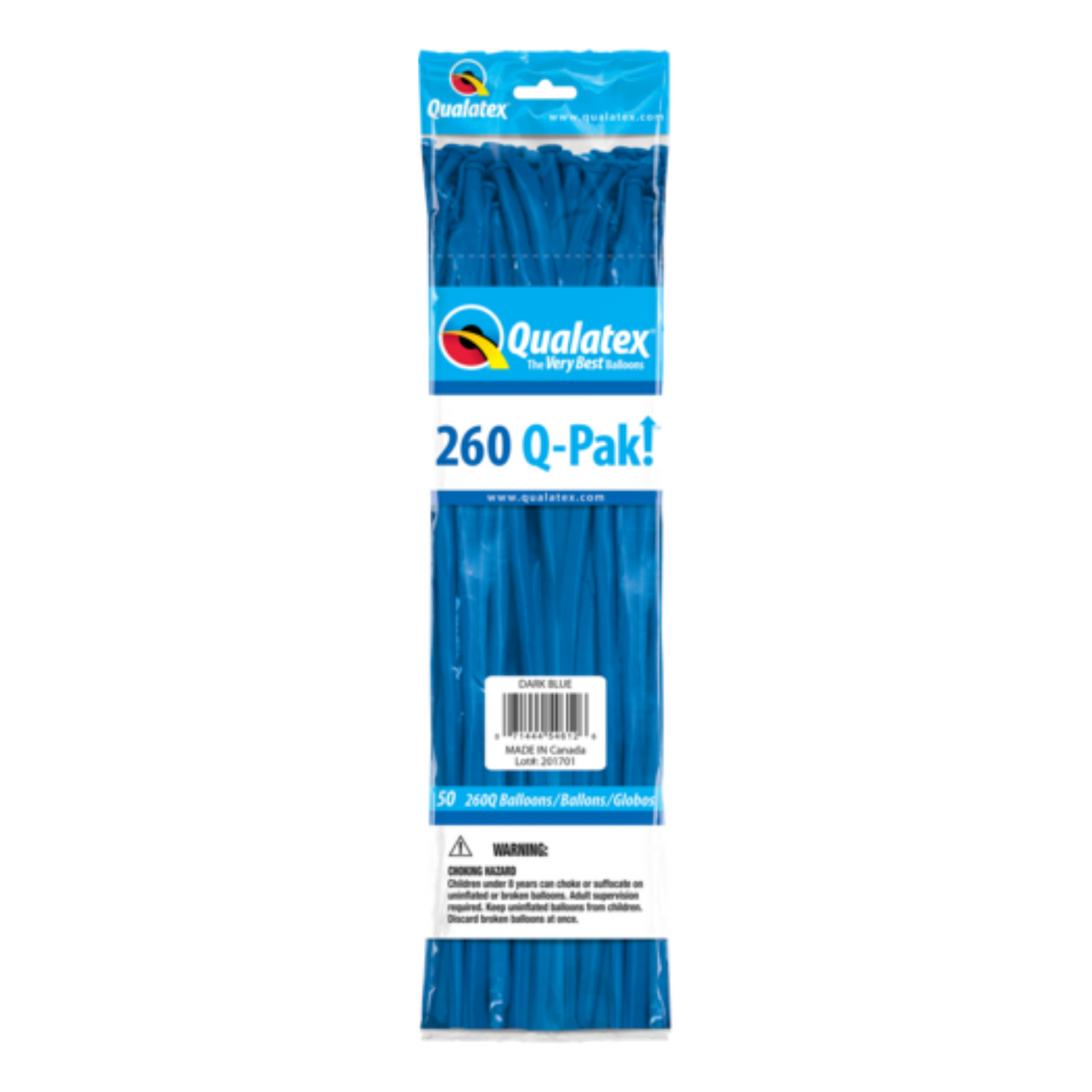 Qualatex 260 Q-Pak (50 pack) BLUE DARK