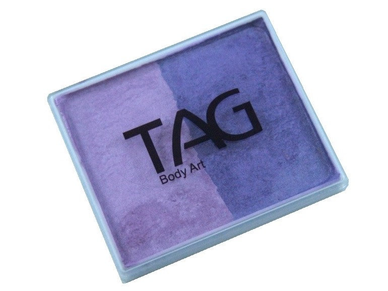 TAG 2-Split 50gm Pearl Lilac & Purple