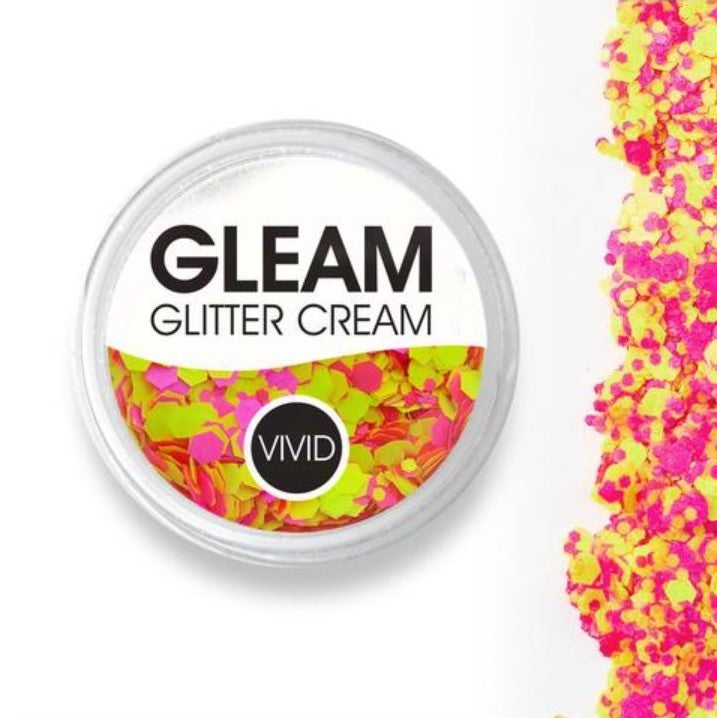 VIVID Gleam Chunky Glitter Cream - ANTIGRAVITY 10gm jar