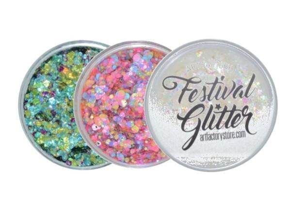 VIVID Glitters Reduced to Clear!