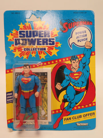 1984 Kenner Super Powers Superman 12 Back DC Comics MISP MOC
