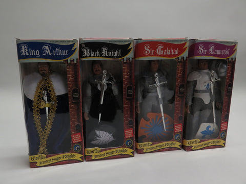 Classic TV Toys Figures Toy Co Mego Style Worlds Greatest Super Knights Full Set