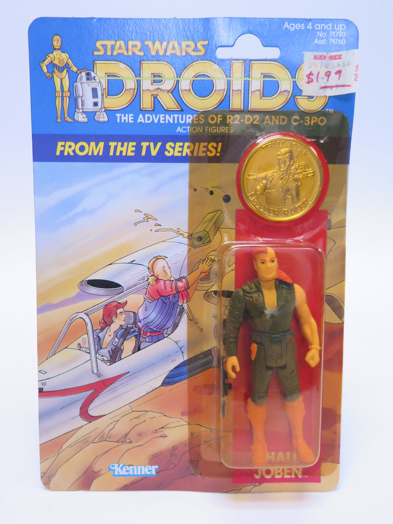 1985 Kenner Star Wars Droids Cartoon Series Thall Joben Sealed MOC MISP