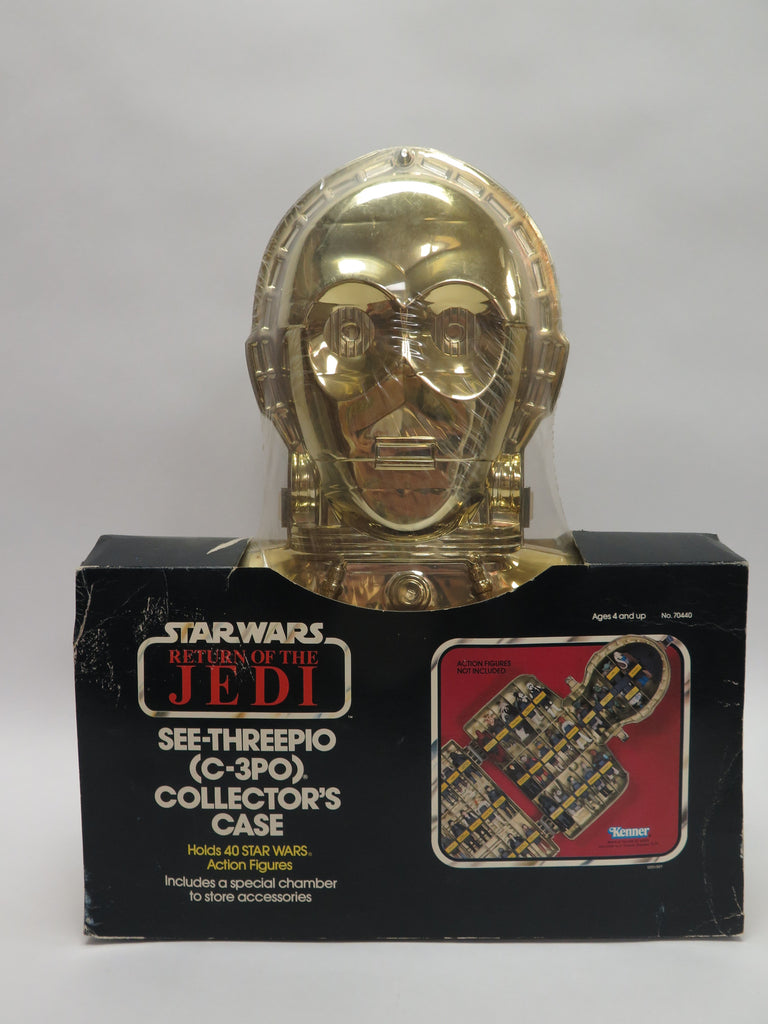 1983 Kenner Star Wars: Return of the Jedi C-3PO See Threepio Collector's Case MISP Sealed