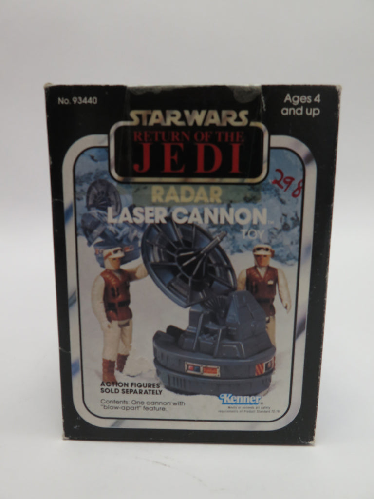 1983 Kenner Star Wars: Return of the Jedi Hoth Radar Laser Cannon MISB Sealed New