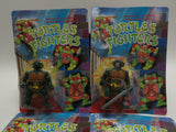 Complete Set of 4 Turtle Fighters TMNT Teenage Mutant Ninja Turtles KO Knock-Offs Bootlegs