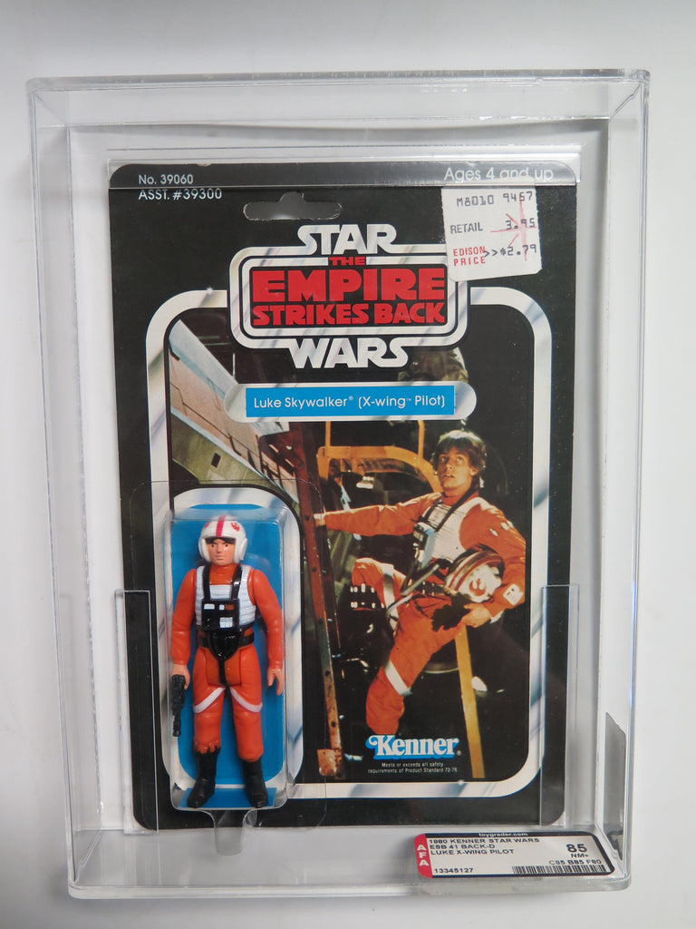 1980 Kenner Star Wars ESB Luke Skywalker X-Wing Pilot AFA 85