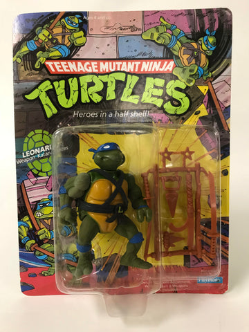 1988 Playmates Teenage Mutant Ninja Turtles TMNT 10 Back Leonardo MOC