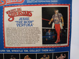 "1985 LJN WWF Wrestling Superstars Jesse ""The Body"" Ventura MOC Unopened"