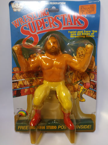 1985 LJN WWF Wrestling Superstars Series 1 Big John Studd MOC Unopened