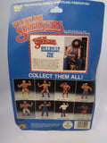 1985 LJN WWF Wrestling Superstars Hillbilly Jim (Unused Figure With Bubble Lift)