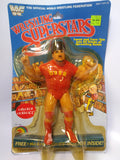 1985 LJN WWF Wrestling Superstars Nikolai Volkoff (Unused Figure With Bubble Lift)