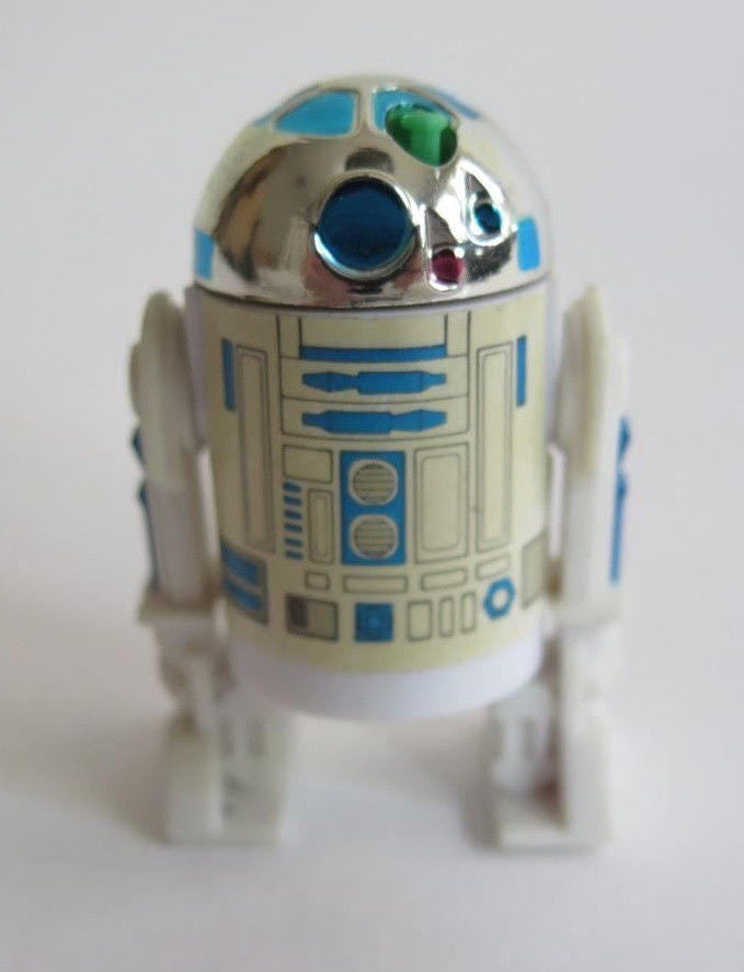 1985 Kenner Star Wars POTF (Power of the Force) R2-D2 w/ Pop-Up Lightsaber
