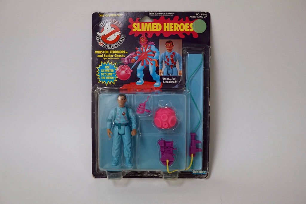 Kenner The Real Ghostbusters Slimed Heroes Winston Zeddmore