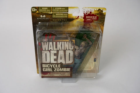 McFarlane The Walking Dead Series 2 Bicycle Girl Zombie
