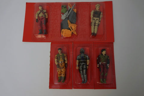 1986 Vintage GI Joe Special Mission Brazil Action Figure Set