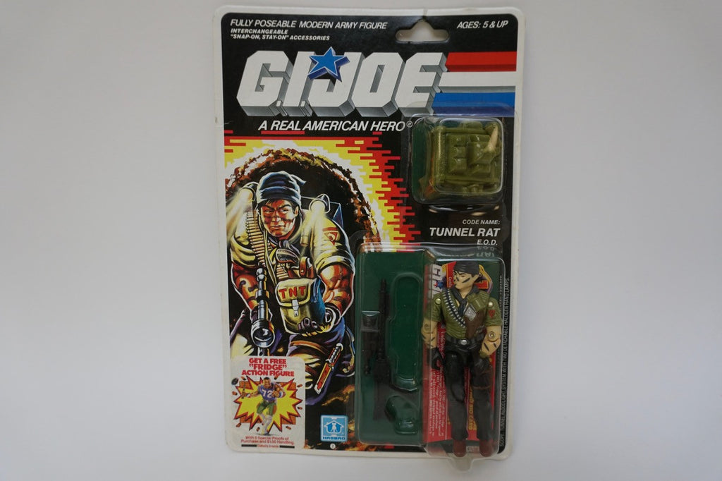 1987 Vintage GI Joe Tunnel Rat MOC Sealed New