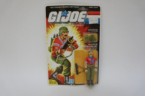 1985 Vintage GI Joe Bazooka MOC Sealed New